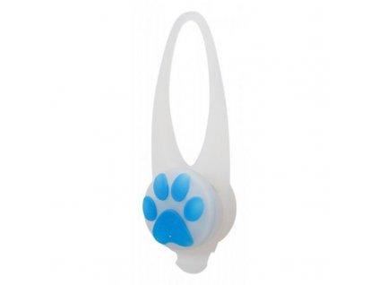 Flasher blikačka pro psy 2,4 cm 8 cm bílá barevná tlapka