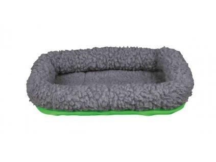 Vlněný pelíšek pro morče 30 x 22 cm, šedá zelená
