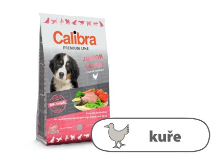 Calibra Dog Premium Line Junior Large 3 kg