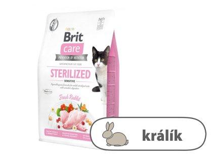 Brit Care Cat Grain Free Sterilized Sensitive 2kg