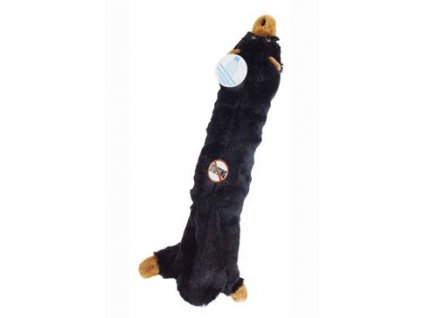 skinneeez hracka pes medved s plast lahvi 55cm