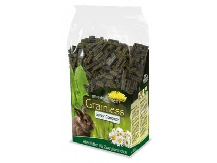 JR Farm Zakrslý králík Grainless Complete Junior 1 kg