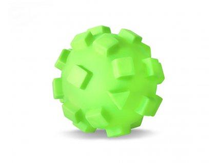 Vinylový míč – kostka XL, pr. 12 cm, vinylová (gumová) hračka