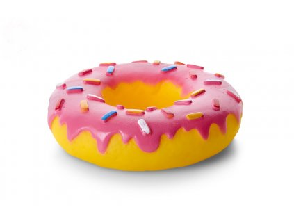 Vinylový donut XL 14cm, vinylová (gumová) hračka