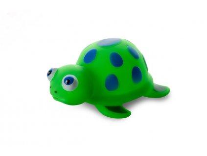 Vinylová želvička 13cm, vinylová (gumová) hračka