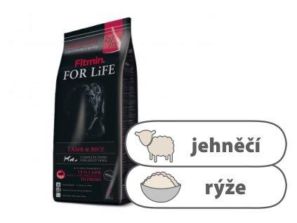 Fitmin For Life Lamb & Rice kompletní krmivo pro psy 3 kg