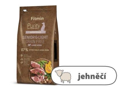 Fitmin Purity Senior & Light Lamb Grain Free kompletní krmivo pro psy 12 kg