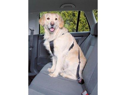 postroj bezpecnostni pro psy do auta trixie m 50 70cm cerna original