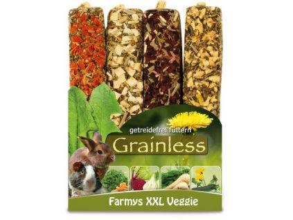 JR Farm Bezobilné tyčinky XXL se zeleninou 450 g
