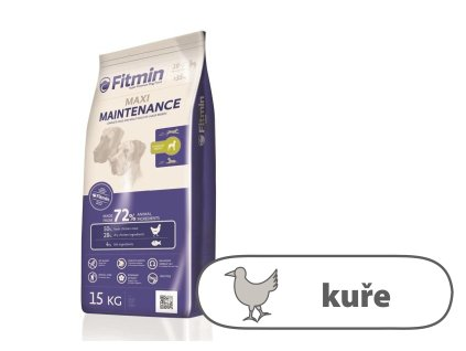 Fitmin Maxi Maintenance kompletní krmivo pro psy 15 kg