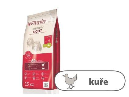Fitmin Medium Light kompletní krmivo pro psy 15 kg