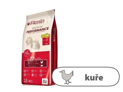 Fitmin Medium Performance kompletní krmivo pro psy 15 kg