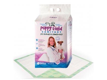 Puppy Field Sanitary pads 25 ks/12