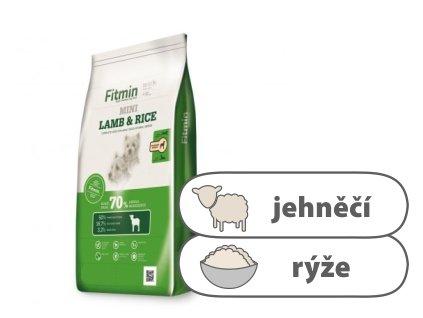 Fitmin Mini Lamb & Rice Kompletní krmivo pro psy 14 kg