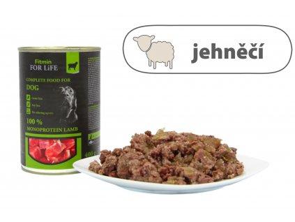 Fitmin For Life – Jehněčí konzerva pro psy 400 g