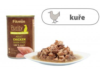 Fitmin Purity Chicken Adult štítek