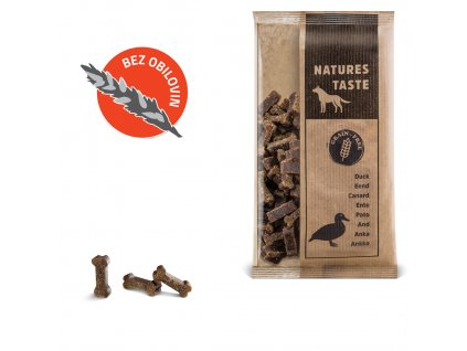 Natures Taste GF Duck (kachní) 100g