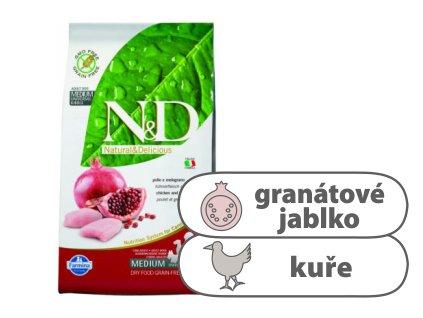 N&D GF DOG Puppy Maxi Chicken & Pomegranate 2,5 kg
