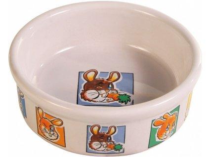 Keramická miska motiv králík 240 ml o 11 cm