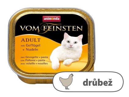 ANIMONDA paštika ADULT drůbež, těstoviny pro kočky 100 g