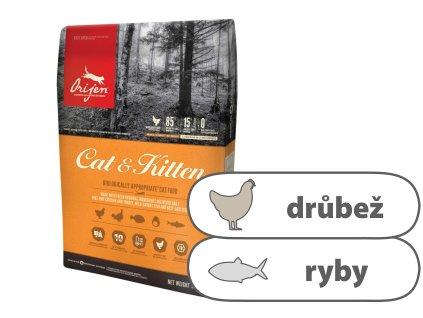 ORIJEN Cat & Kitten 1,8 kg