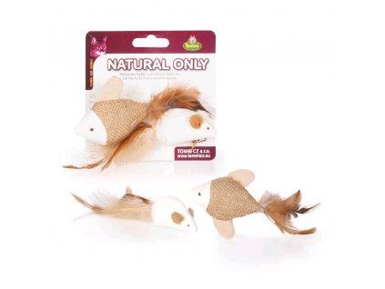 Natural Only - rybka a myška, 4 cm