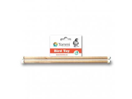 dřevěná bidýlka pro exoty