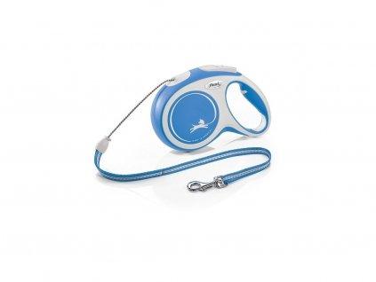 Flexi New Comfort L pásek 5 m/60 kg modrá