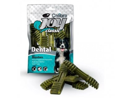 Calibra Joy Dog Classic Dental Brushes 85g NEW