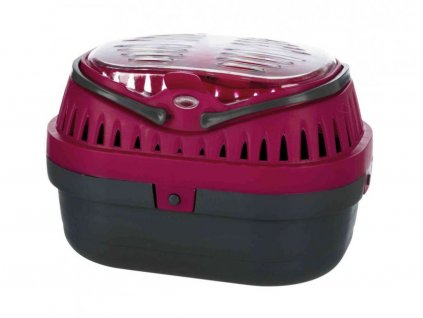 Transportní box PICO MINI – 18 x 12 x 13 – pro myši a křečky, červený
