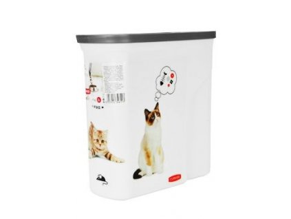 Curver kontejner na suché krmivo 2 l – kočka