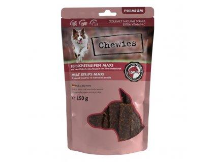 Chewies 100% koňské maso 150 g   Plátky koňského masa pro psy