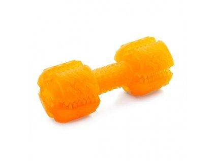 Denta roo činka – oranžová, 13 cm