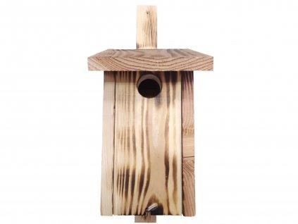 Dřevěná ptačí budka jedle2