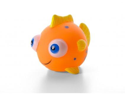 Vinylová rybka malá — 10 cm