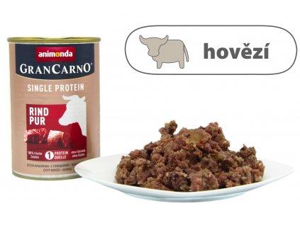 Animonda Adult Single Protein - Hovězí konzerva pro psy 400 g