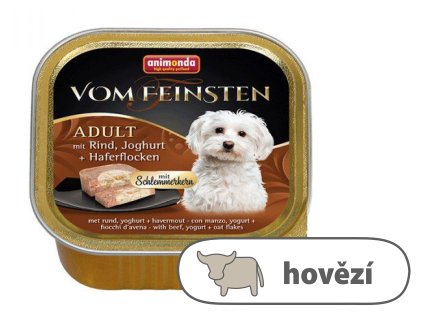 V.Feinsten CORE hovězí, jogurt + vločky pro psy 150 g