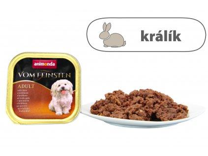 Animonda paštika Adult s králíkem 150 g