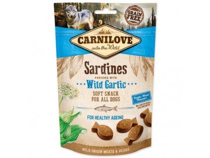 Carnilove Dog Semi Moist Snack Sardines & Wild garlic 200g