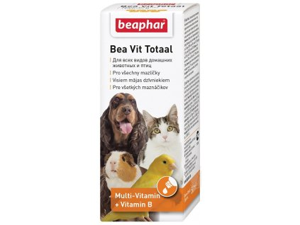 Beaphar Vit Total – vitaminové kapky 50 ml