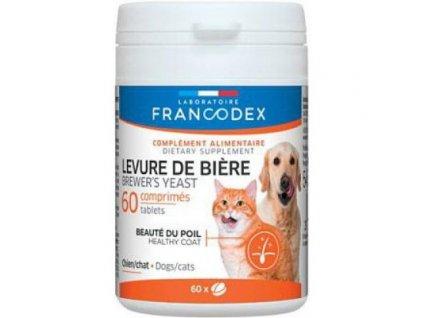 Francodex Brewer Yeast (pivovar. kvas) pro psa i kočku 60 tab.