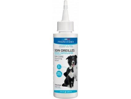 Francodex čistící roztok na uši pro psa i kočku 125 ml