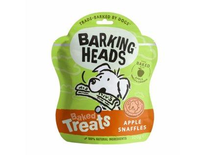 Barking Heads Baked Treats Apple Snaffles 100 g | Krmiva u Toma | Pečené sušenky pro psy