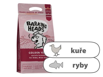 Barking Heads Golden Years 1 kg