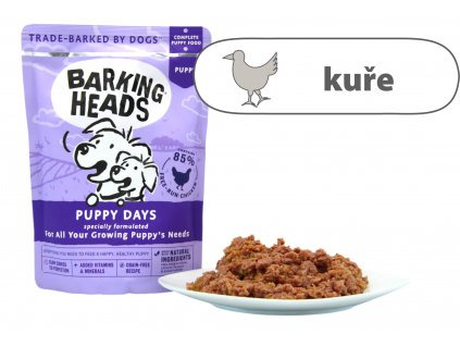 Barking Heads Puppy Days kapsička 300 g