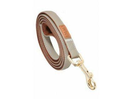 Vodítko pes MAYFAIR béžová 20 mm 1,2 m Zolux
