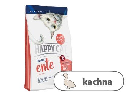 Happy Cat Sensitive Ente (Kachna) 1,4 kg