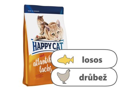 Happy Cat Adult Atlantik Lachs 1,4 kg