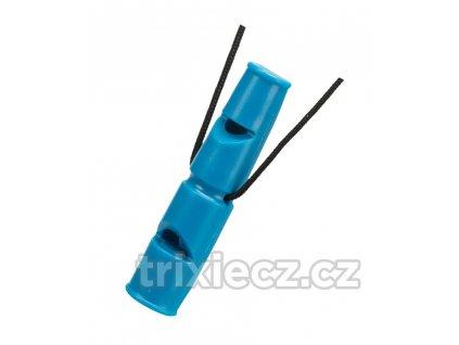 Píšťalka plastová, dvojitý tón, 7,5cm