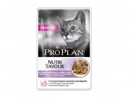 Purina Pro Plan Cat Delicate kapsička 85 g (krůtí) | Krmiva u Toma